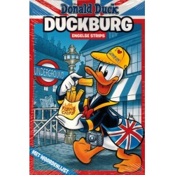 Donald Duck  Duckburg pocket 01 Engelse strips met woordenlijst