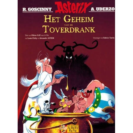 Asterix  Het geheim van de toverdrank (gebaseerd op de animatiefilm) naar Uderzo & Goscinny