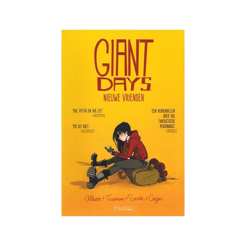 Giant days 01 Nieuwe vrienden