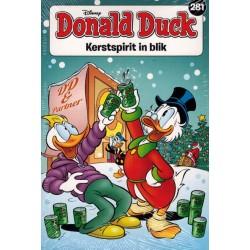 Donald Duck  pocket 281 Kerstspirit in blik