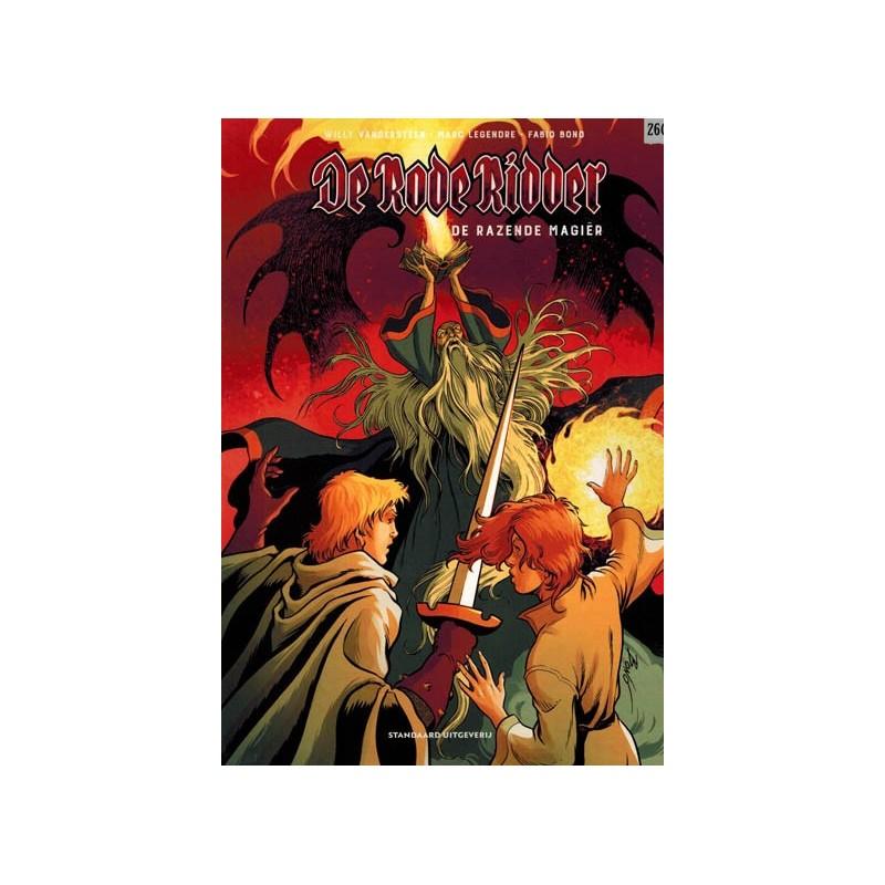 Rode Ridder  260 De razende magier (naar Willy Vandersteen)