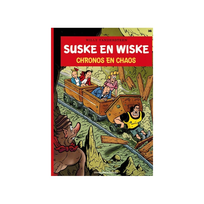 Suske & Wiske  346 Chronos en chaos(naar Willy Vandersteen)