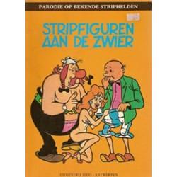 Stripfiguren aan de zwier % sexparodie Asterix en Suske & Wiske