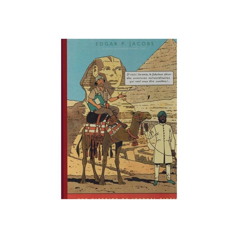 Blake & Mortimer  Luxe HC Franstalig Het mysterie van de grote piramide deel 1 zoals verschenen in Kuifje-magazine