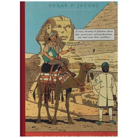 Blake & Mortimer  Luxe HC Het mysterie van de grote piramide deel 1 zoals verschenen in Kuifje-magazine
