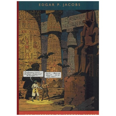 Blake & Mortimer  Luxe HC Franstalig Het mysterie van de grote piramide deel 2 zoals verschenen in Kuifje-magazine