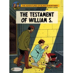 Blake & Mortimer  UK 24 The testament of Willam S.