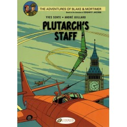 Blake & Mortimer  UK 21 Plutarch's staff