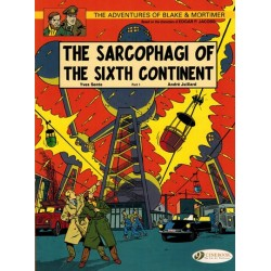 Blake & Mortimer  UK 09 The sarcophagi of the sixth continent part 1