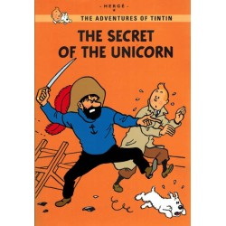 Kuifje  UK A5 The secret of the Unicorn