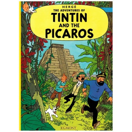 Kuifje  UK 23 Tintin and The Picaros