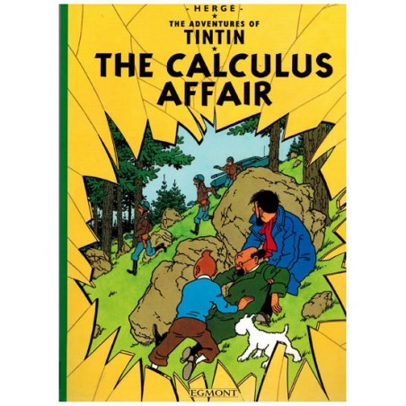 Kuifje  UK 17 Tintin The Calculus affair