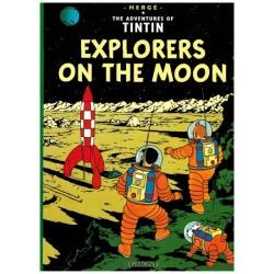 Kuifje  UK 16 Tintin Explorers of the moon