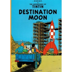 Kuifje  UK 15 Tintin Destination moon