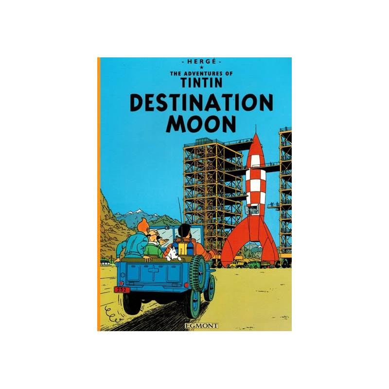 Kuifje  UK 15 Tintin Destination moon