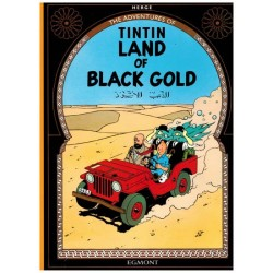 Kuifje  UK 14 Tintin Land of black gold