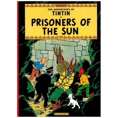 Kuifje  UK 13 Tintin Prisoners of the sun