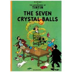 Kuifje  UK 12 Tintin The seven crystal balls