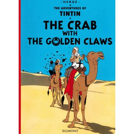 Kuifje  UK 08 Tintin The crab with the golden claws