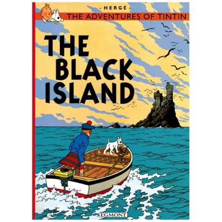 Kuifje  UK 06 Tintin The Black Island