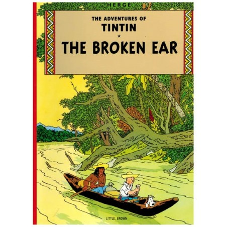 Kuifje  UK 05 Tintin The broken ear
