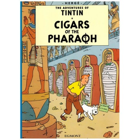 Kuifje  UK 03 Tintin Cigars of the pharaoh