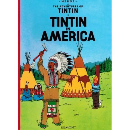 Kuifje  UK 02 Tintin in America