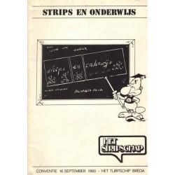 Strips en onderwijs Conventie 16 september 1983 1e druk