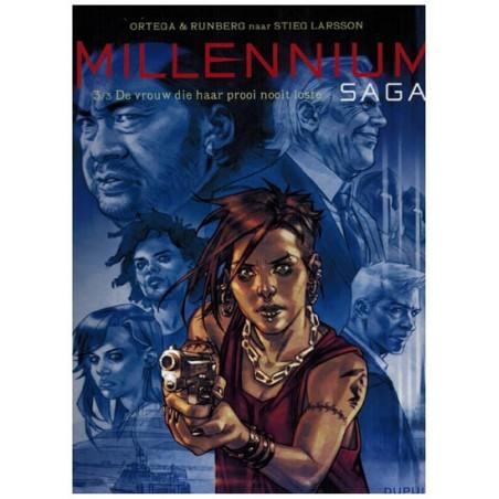 Millennium saga 03 De vrouw die haar prooi nooit loste (Stieg Larsson)