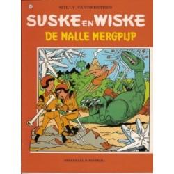 Suske & Wiske 143 De malle mergpijp herdruk (naar Willy Vandersteen)