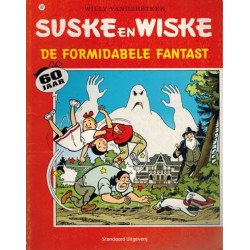 Suske & Wiske 287 De formidabele fantast 1e druk 2005 (naar Willy Vandersteen)