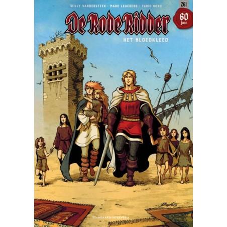 Rode Ridder  261 Het bloedkleed (naar Willy Vandersteen)