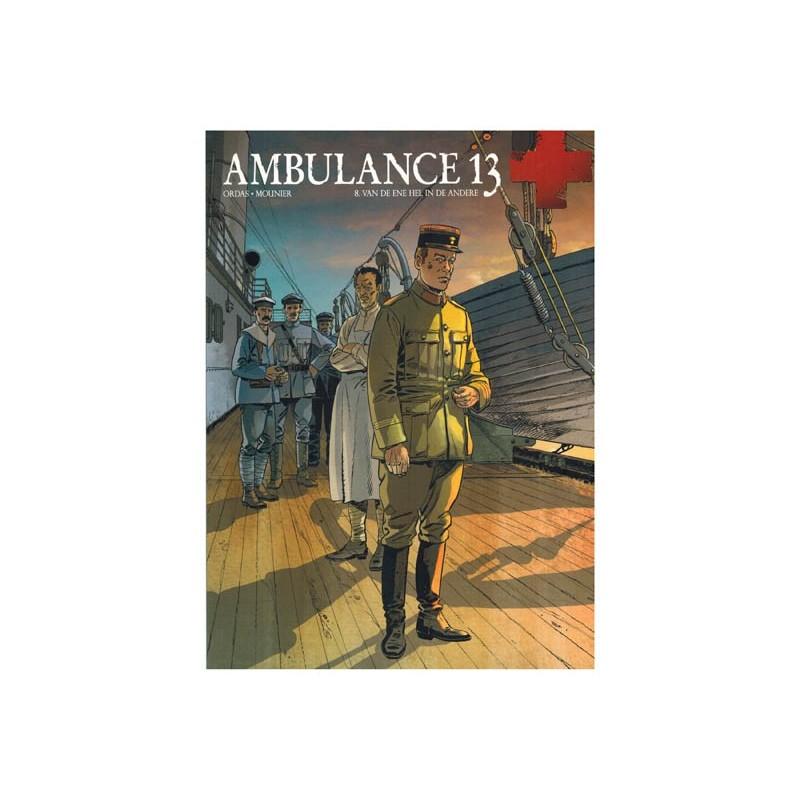 Ambulance 13 08 Van de ene hel in de andere