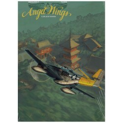 Angel wings 05 HC Limited edition Black sands (alt. omslagillustratie, prent & display)