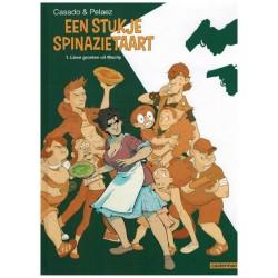 Stukje spinazietaart 01 HC Lieve groeten uit Machy