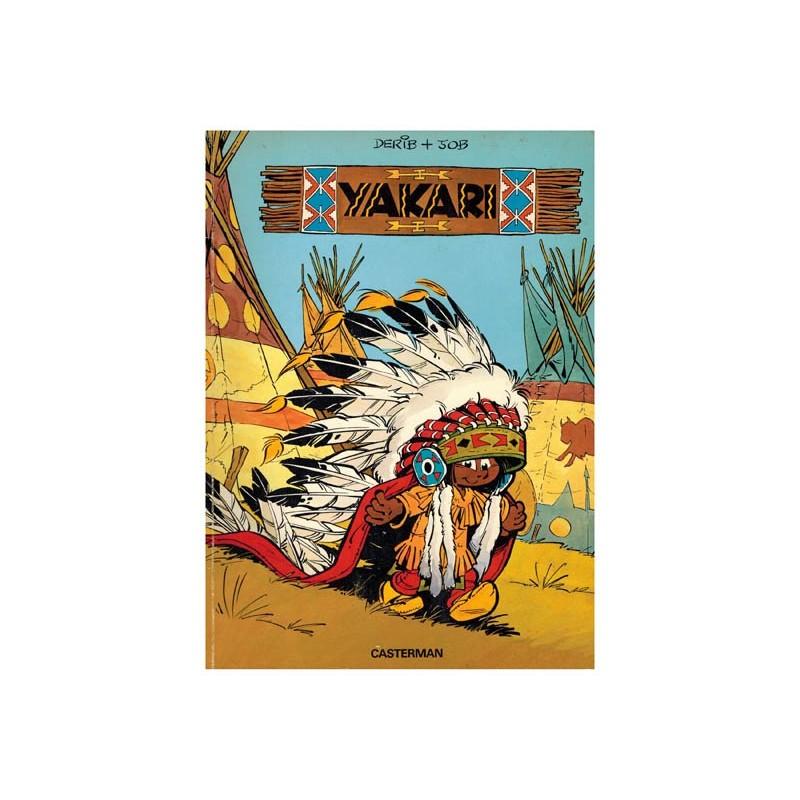 Yakari 01 1e druk Casterman 1977