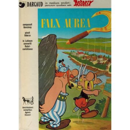Asterix Taal HC % Latijn Falx aurera [Het gouden snoeimes]