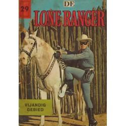 Lone Ranger 29% Vijandig gebied 1e druk 1962