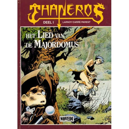 Thaneros 01 Het lied van de Majordomus 1e druk 1989