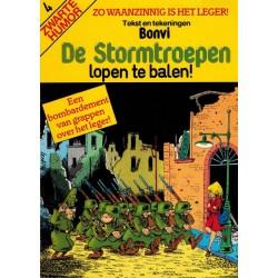 Stormtroepen set deel 1 t/m 4 1e drukken 1982-1983