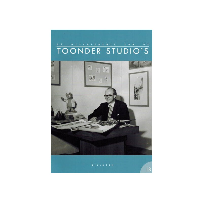 Toonder  De geschiedenis van de Toonder Studio's set deel 1 t/m 18 in twee mappen