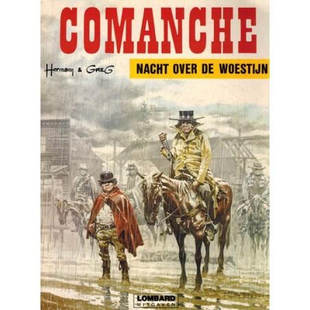 Comanche 05 Nacht over de woestijn herdruk Lombard