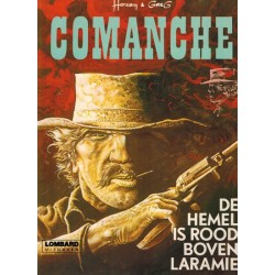 Comanche 04 De hemel is rood boven Laramie herdruk Lombard