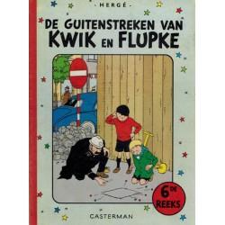 Kwik (Quick) en Flupke HC bundel De guitenstreken 06 herdruk