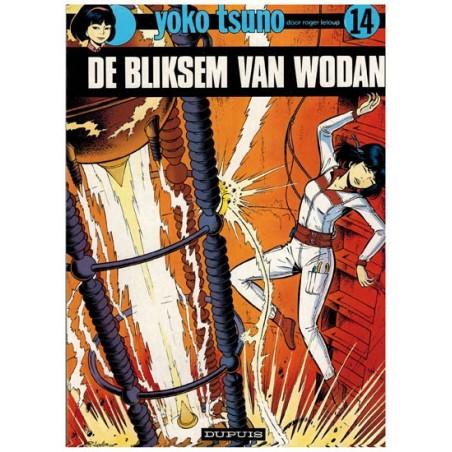 Yoko Tsuno 14 De bliksem van Wodan herdruk