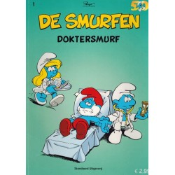 Smurfen Reclame-album 01% Doktersmurf 1e druk 2008
