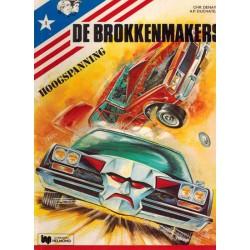 Brokkenmakers 01 Hoogspanning 1e druk Helmond 1977