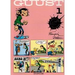 Guust Flater set Speciale uitgave 40ste verjaardag deel 1 t/m 19 met vignet op voorblad