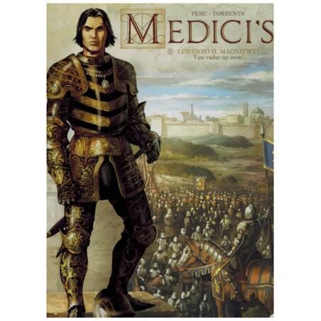 Medici's 02 Lorenzo il Magnifico Van vader op zoon