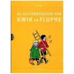 Kwik (Quick) en Flupke De guitenstreken deel 1 & 2 HC integraal in box